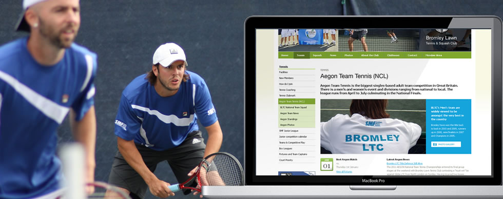Bromley Lawn Tennis Club Website